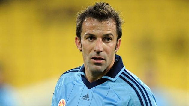 Alessandro Del Piero - Sydney FC 2012 (AP/LaPresse)