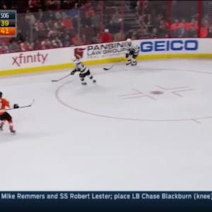 Jonathan Quick Save on Jakub Voracek (01:04/OT)