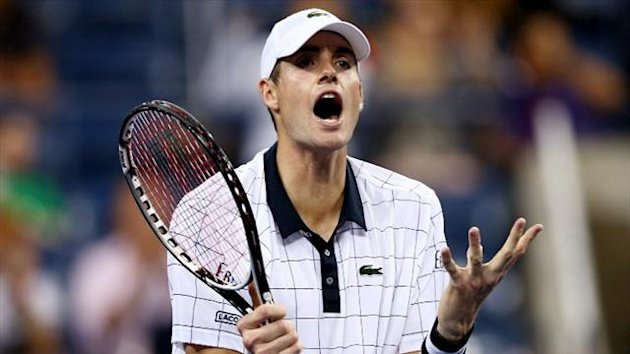 John Isner at the 2012 US Open