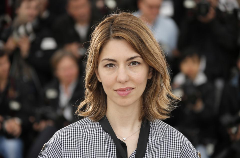 Director Sofia Coppola poses for photographers during a photo call for the film The Bling Ring at the 66th international film festival, in Cannes, southern France, Thursday, May 16, 2013. (AP Photo/Francois Mori)