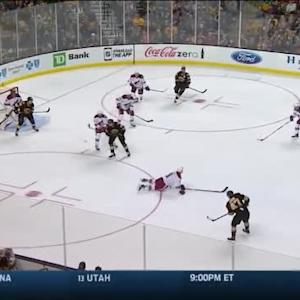 Mike Smith Save on Torey Krug (10:21/2nd)