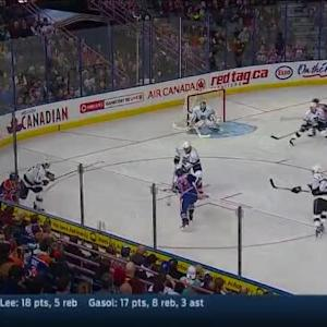 Jonathan Quick Save on Ryan Nugent-Hopkins (08:28/3rd)