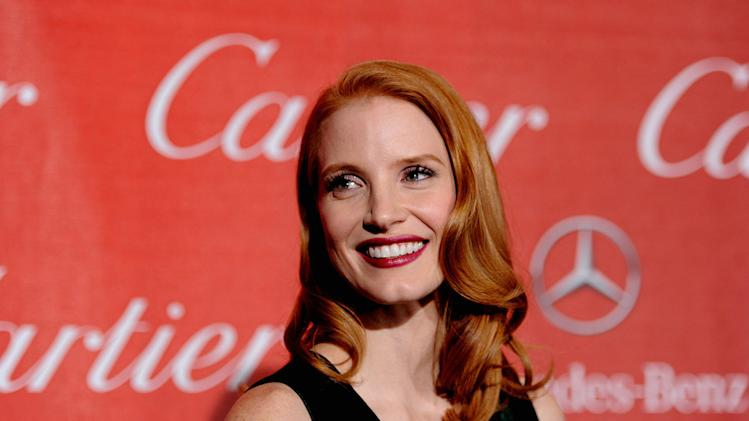 2012 Palm Springs Film Festival Awards Gala Jessica Chastain