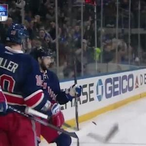 Rick Nash Goal on Cam Ward (06:30/1st)