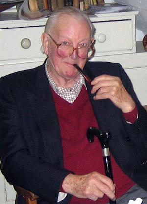 This is an undated handout photo issued by Random House of British novelist Tom Sharpe. Sharpe, who satirized everything from apartheid to academe in a series of best-sellers, has died at the age of 85. Sharpe's Spanish publisher, Anagrama, said he died early Thursday June 6, 2013in the Catalan town where he lived. (AP Photo/Susan Sandon/Random House/PA) NO ARCHIVE NO SALES