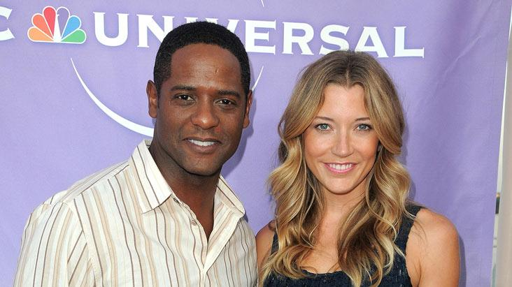 """The Event's"" Blair Underwood and Sarah Roemer arrive at NBC Universal's 2010 TCA Summer Party on July 30, 2010 in Beverly Hills, California."