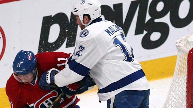 NHL: Tampa Bay Lightning at Montreal Canadiens