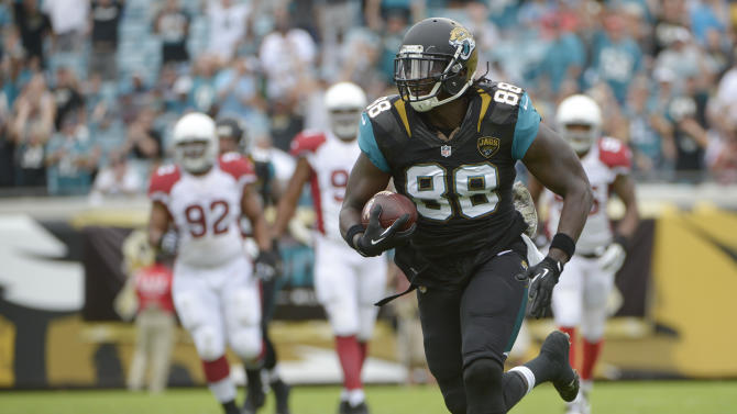 Cardinals go error-free in 27-14 win over Jaguars