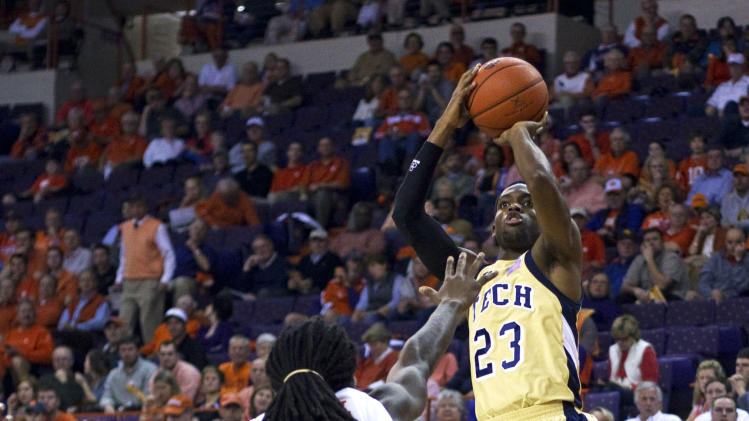 NCAA Basketball: Georgia Tech at Clemson