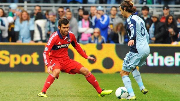 Sputtering in attack, Chicago Fire's defense vs. Sporting KC is something to build on