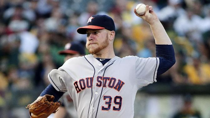 Hoes homer in 12th inning lifts Astros past A's
