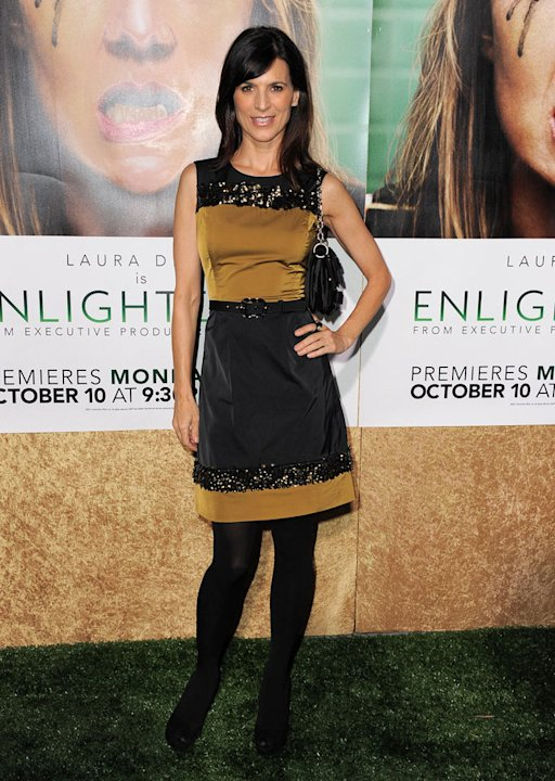 Perrey Reeves arrives at the premiere of HBO's &quot;Enlightened&amp;quot at Paramount Theater on October 6, 2011 in Hollywood, California. 