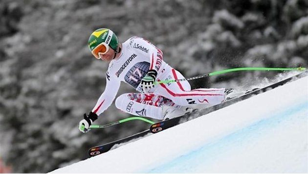 Alpine Skiing - Kroell tops final Kitzbuehel training