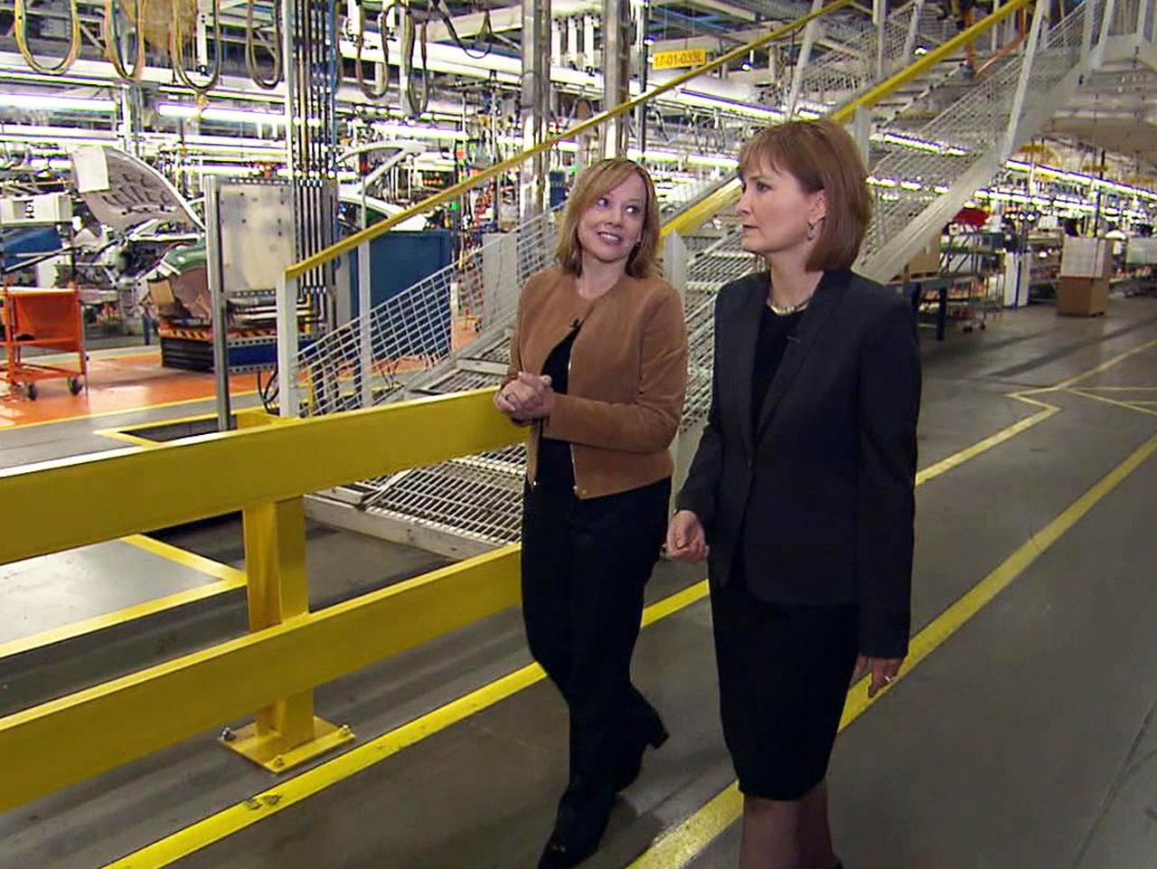 What drives GM CEO Mary Barra?