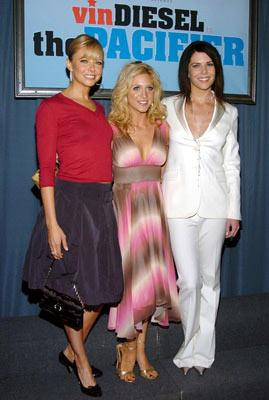 Faith Ford , Brittany Snow and Lauren Graham at the Hollywood premiere of Walt Disney Pictures' The Pacifier