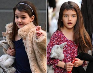 Suri Cruise y su flequillo via NY Daily News
