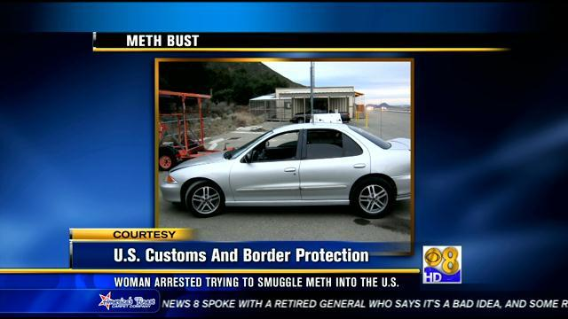 19-year-old Mexican citizen accused in meth smuggling attempt