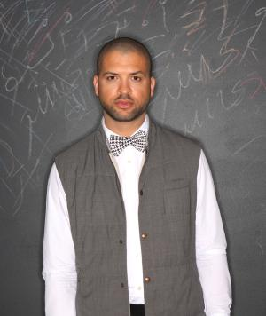 This undated handout photo provided by the Kennedy Center shows Jason Moran. The Kennedy Center is expected to name the 36-year-old pianist Moran as its artistic adviser for jazz Tuesday, succeeding 89-year-old acclaimed musician Billy Taylor. (AP Photo/Kennedy Center)