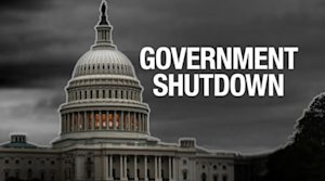 Government powers down; Obama to address country