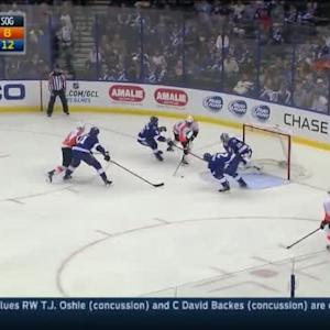 Ben Bishop Save on Wayne Simmonds (05:57/2nd)