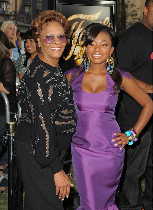 Fame LA premiere 2009 Naturi Naughton Dionne Warwick