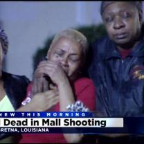 1 Dead In Christmas Eve Mall Shooting