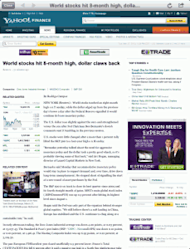 screenshot of an article within MarketDash