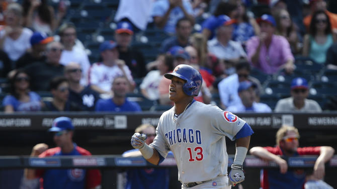 Castro's homer in 9th lifts Cubs over Mets 2-1