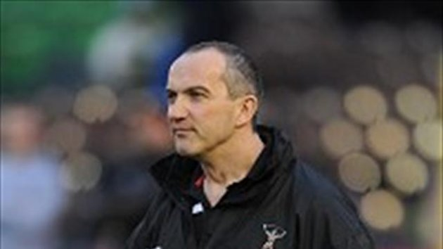 Conor O'Shea was unhappy with the officials on Friday night