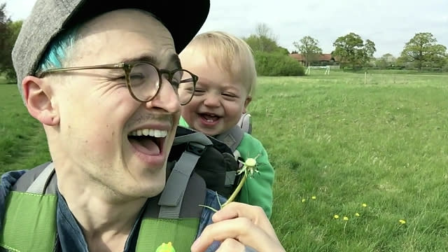 This Baby's Hilarious Reaction to Seeing a Dandelion for the First Time Will Make Your Day