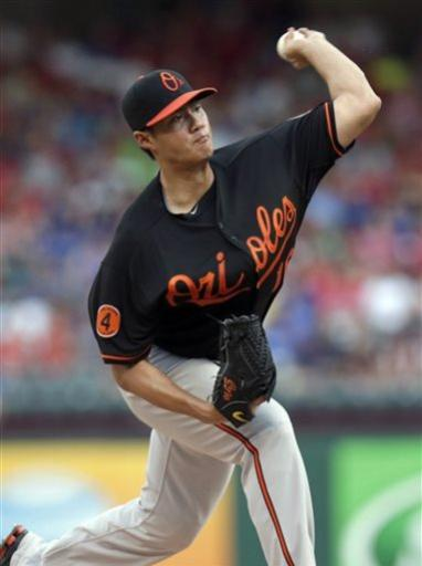 Showalter wins 250th with O's in 3-1 win at Texas