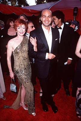 Frances Fisher and Billy Zane