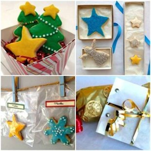 Try these cute ways to package Christmas cookies