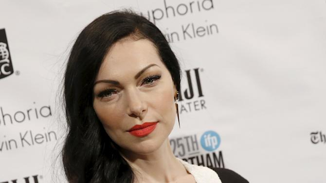 Actress Laura Prepon poses on the red carpet for the Gotham Independent Film Awards in New York