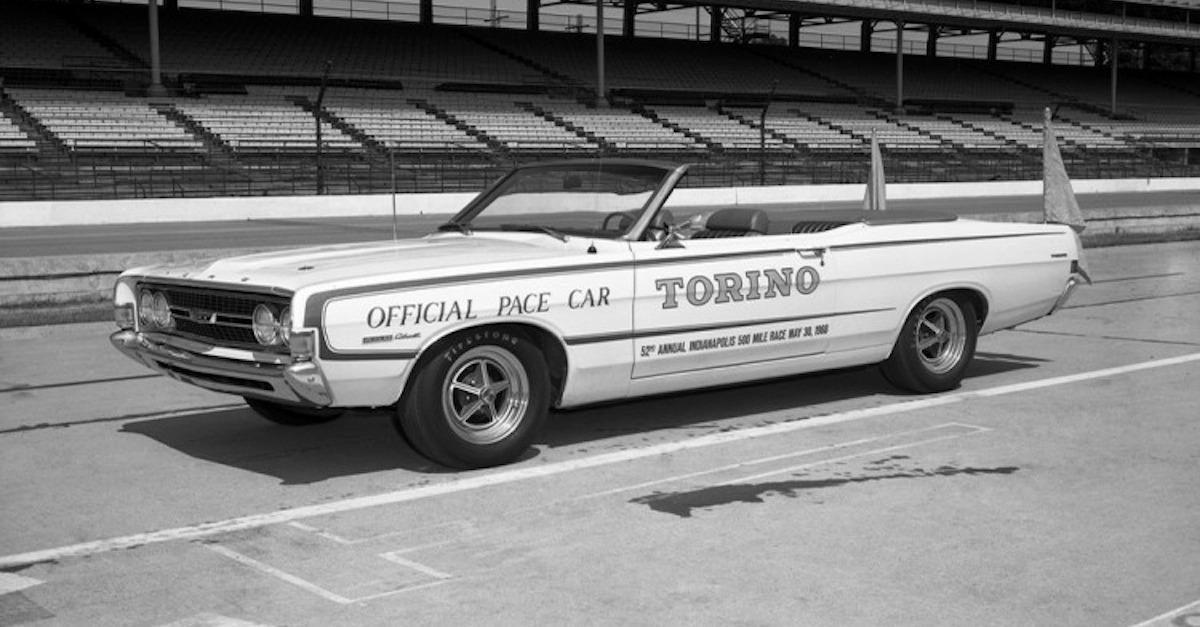 10 Best Indy Pace Cars