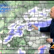 Tuesday PM Forecast: Occasional Snow With Falling Temperatures Tonight
