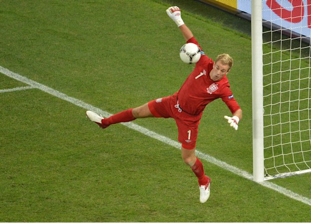 English Goalkeeper Joe Hart …