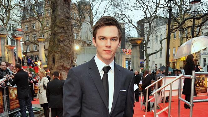 Clash of the Titans UK premiere 2010 Nicholas Hoult