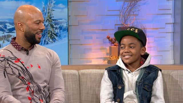 'LUV': Common and Michael Rainey Jr Talk to 'GMA'