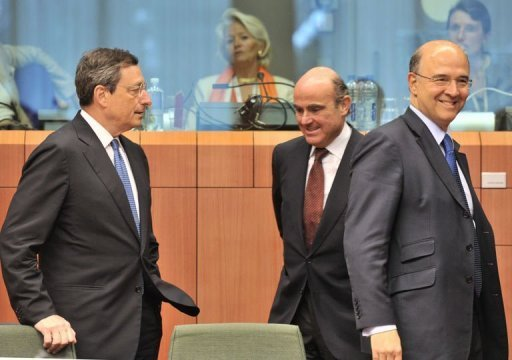 Eurozone ministers agreed to extend a deadline for Spain to cut its public deficit to the EU 3% limit by one year