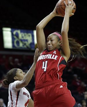 Schimmel helps Louisville women beat Rutgers 80-71