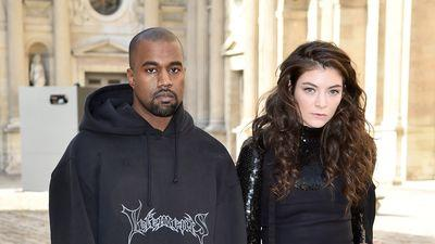 Kanye West and Lorde Have a Resting Bitchface Contest and Everybody Wins