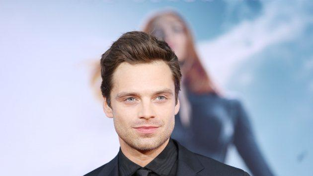 Sebastian Stan arrives at the Los Angeles premiere of 'Captain America: The Winter Soldier' held at the El Capitan Theatre on March 13, 2014 in Hollywood -- Getty Images