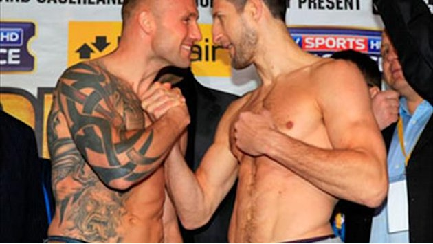Boxing - Froch is revved up after weigh-in