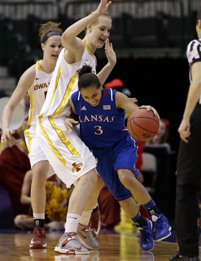Iowa State defeats Kansas 77-62