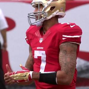 San Francisco 49ers quarterback Colin Kaepernick burns 2nd timeout