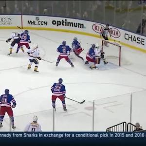 Cam Talbot Save on James Neal (18:30/3rd)