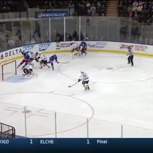 Pekka Rinne Save on Kevin Klein (02:24/1st)