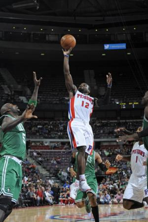 Pistons beat Celtics 103-83 for first home victory