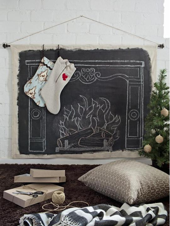 Chalkboard Hearth